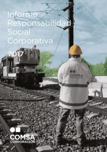 Informe de responsabilidad social corporativa 2017 - COMSA Corporación