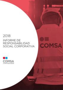 Informe de responsabilidad social corporativa 2018 - COMSA Corporación