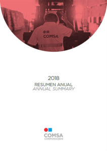 Resumen anual 2018 - COMSA Corporación
