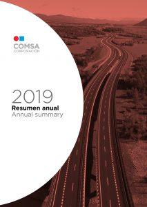 Resumen anual 2019 - COMSA Corporación